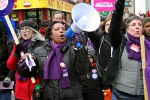 Chanting down Yonge Street