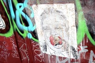 Queen Alley Apple Poster