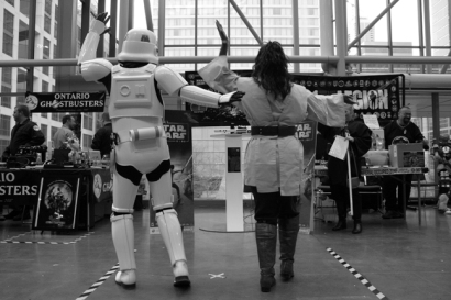 Storm Trooper Jedi Dance Off