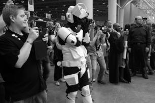Storm Trooper Paparazzi