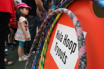 Hula Hoop Tryouts
