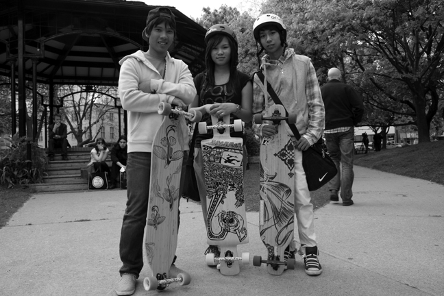 Young Longboarders