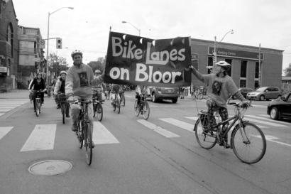 Bikes Lanes On Bloor