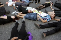 Group Die-In