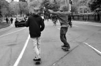 Skateboarding Interlopers