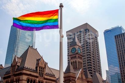 Rainbow Over Toronto
