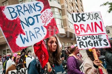 Brains Not War