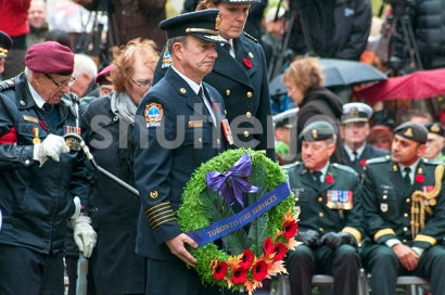 Toronto Fire Services Wreath