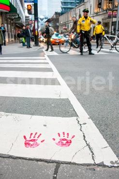 Bloody Crosswalk