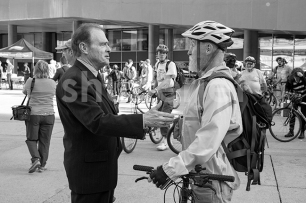 Norm Kelly Greeting Party